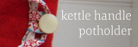 Kettle Handle Potholder